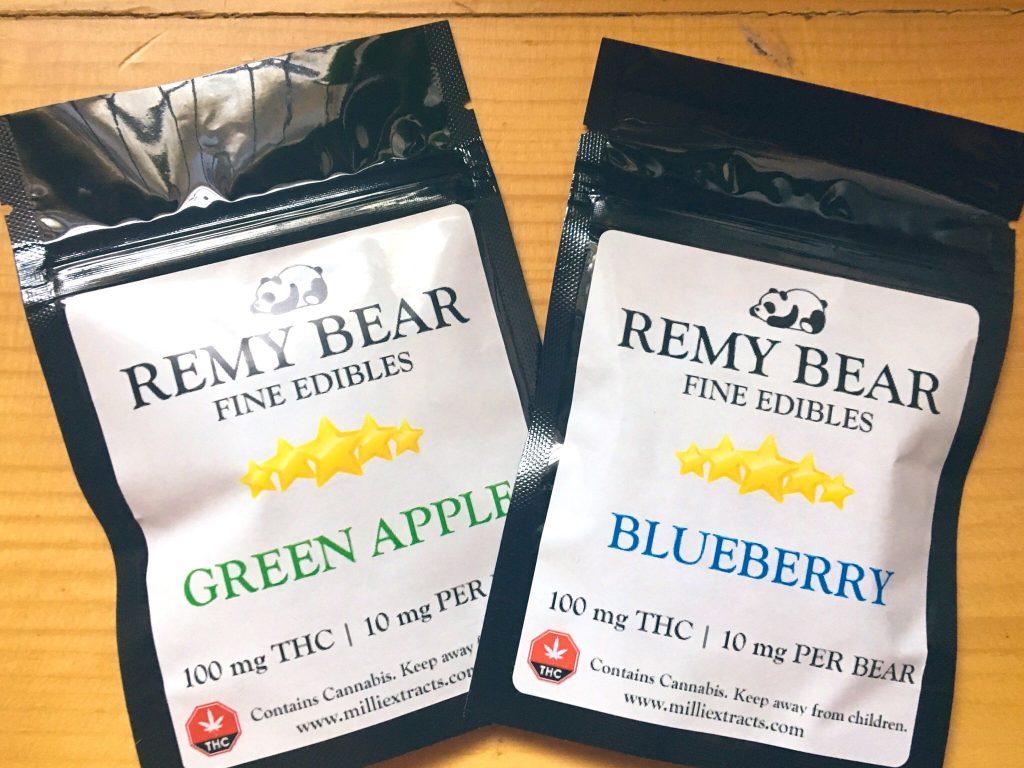 cannabis distillate edible candies