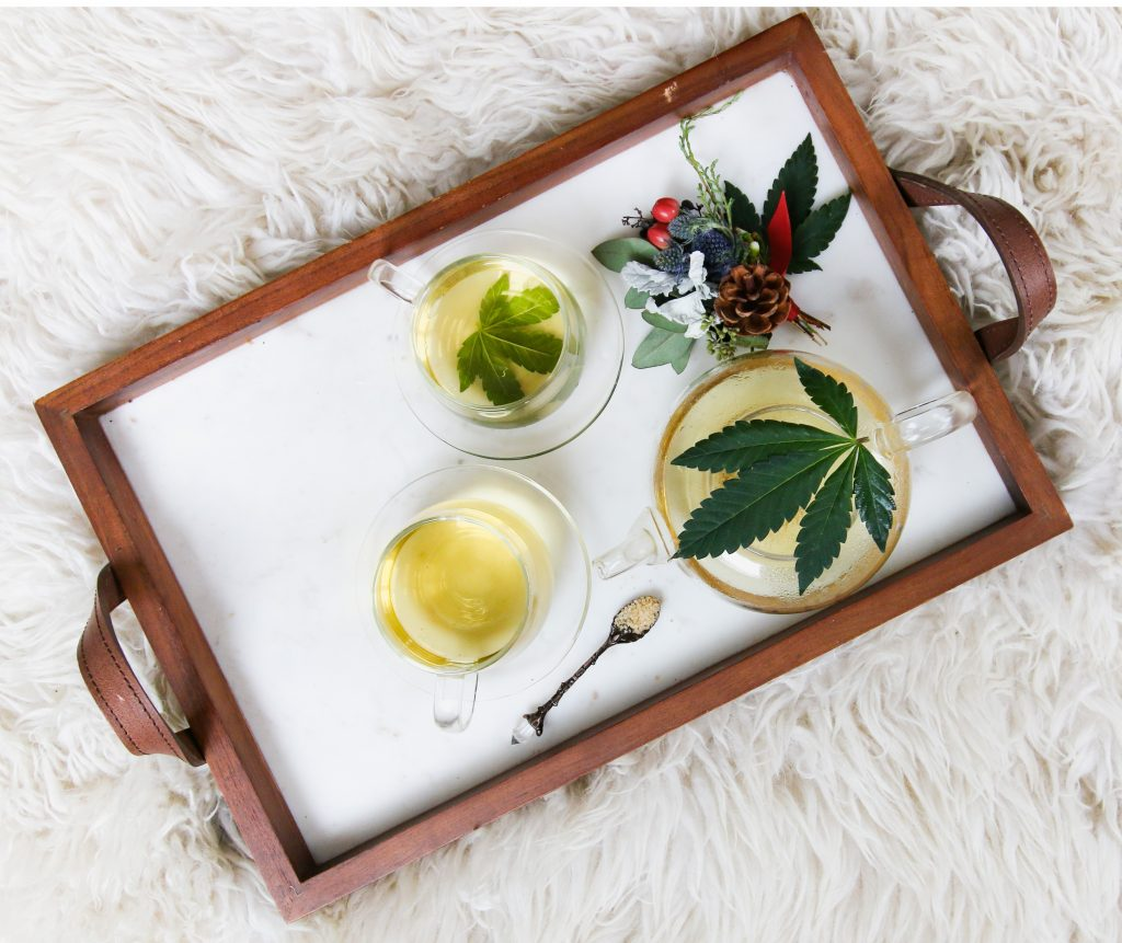 Cannabis With Self-Care at Tea-Time