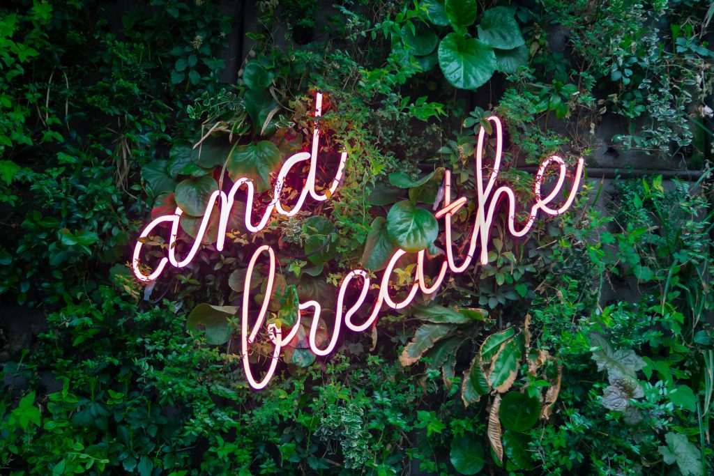 self care with cannabis helps you breathe
