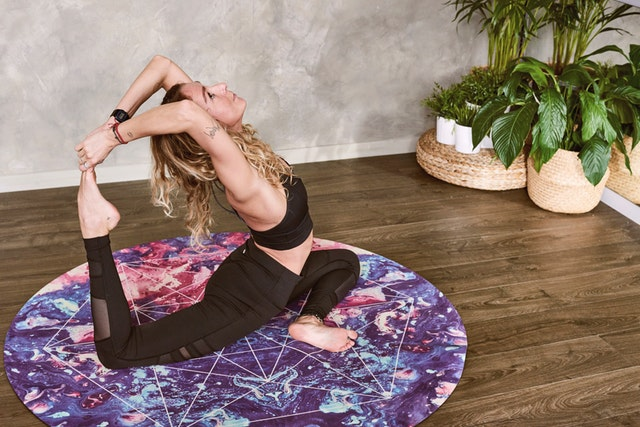 Self-Care with Cannabis Yoga Routine