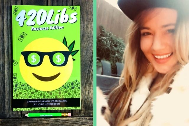 Jorie Henrickson and the 420Libs cannabis book business edition