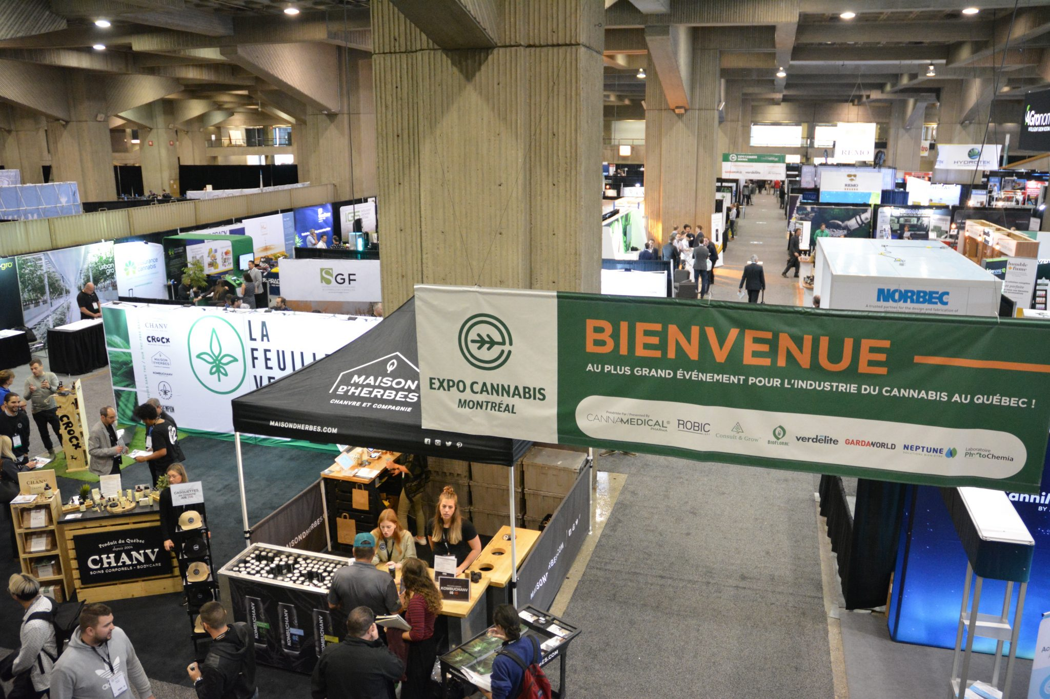 Montreal Cannabis Expo Tradeshow Overview
