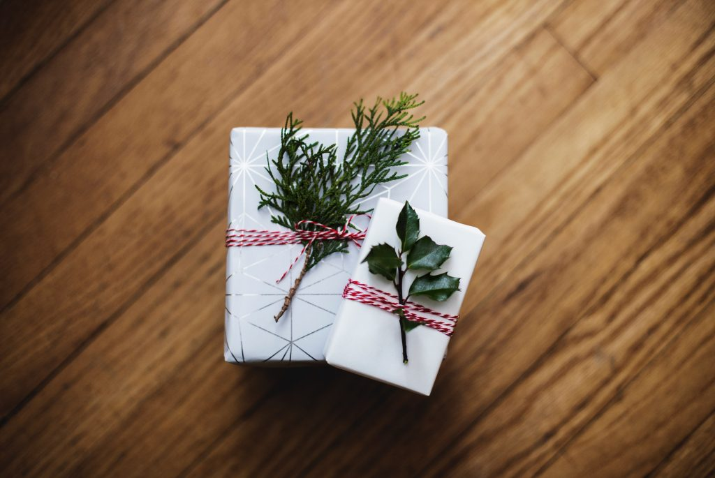 wrapped cannabis gifts for non-smokers