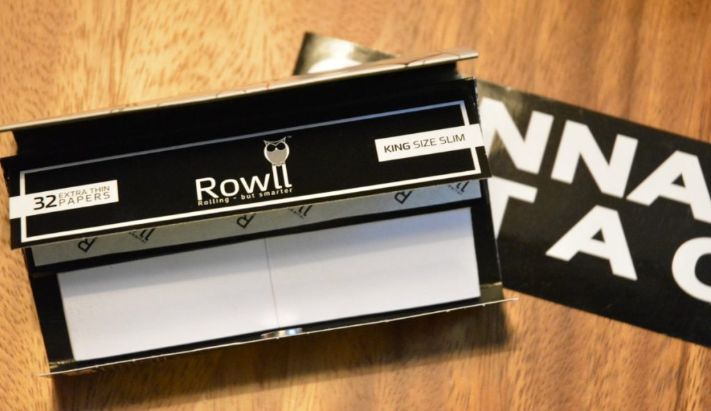 Rowll rolling kit on display as a cheap cannabis gift ideas